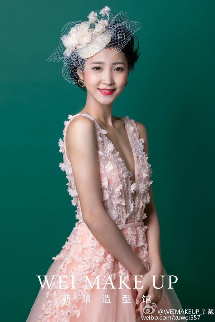 帽子元素新娘造型,复古怀旧风格+清新可爱风格