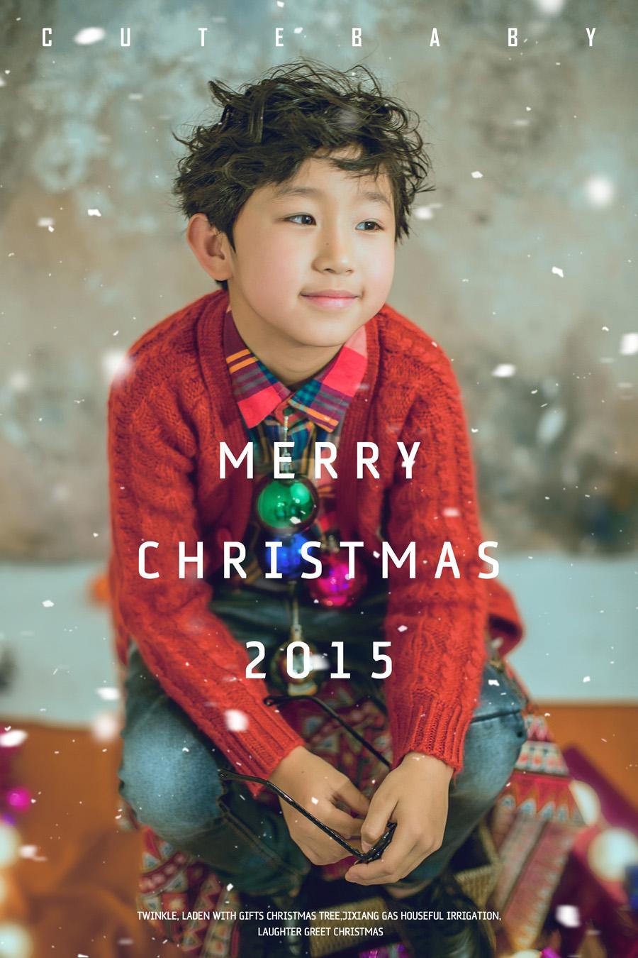 圣诞专题之三:巧妙运用素材拍摄时尚的儿童圣诞主题