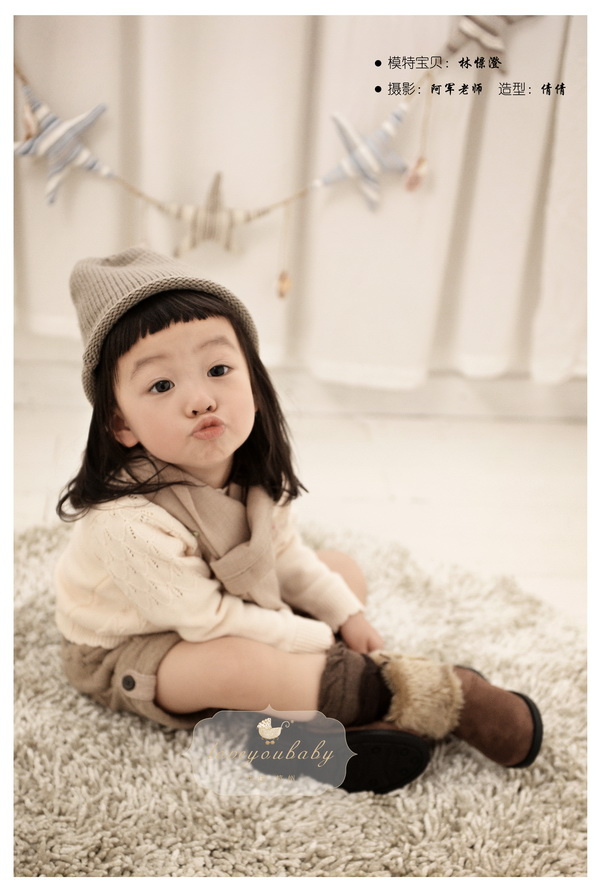 【杭州爱你宝贝儿童摄影】韩式清新女孩摄影写真