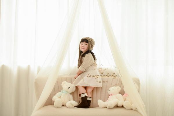 韩式唯美儿童照主题【杭州爱你宝贝儿童摄影】