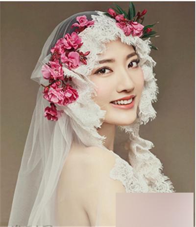 2016韩式新娘发型二