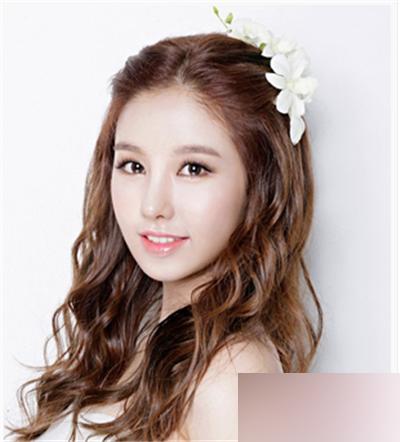2016韩式新娘发型三