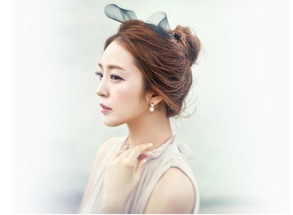 打造自然轻盈的韩式风格新娘妆