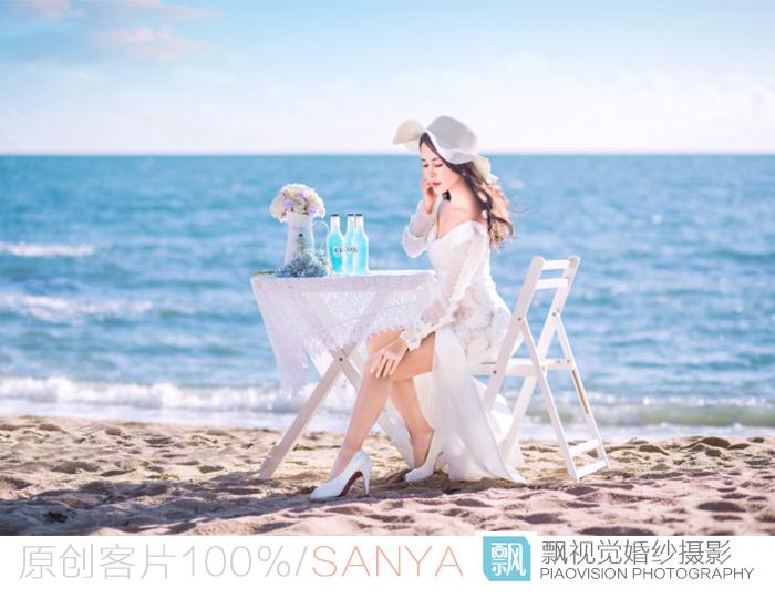 三亚海景婚纱照【飘视觉样片】