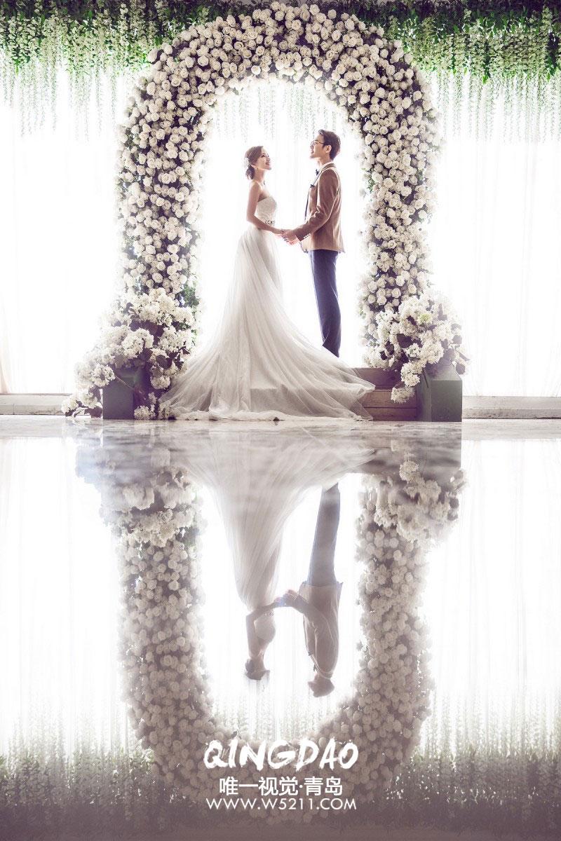 青岛旅拍婚纱照,感受美好