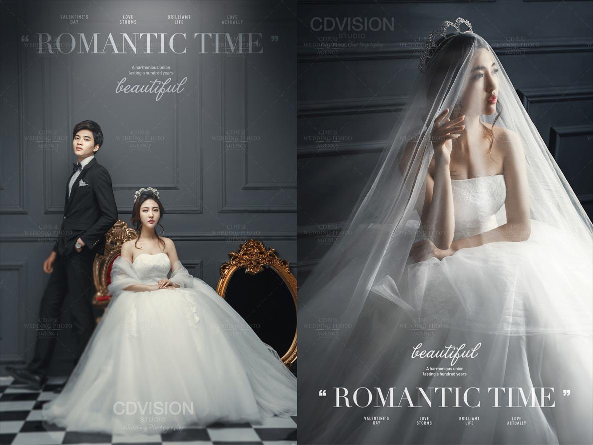 CD视觉婚纱摄影全新 系列作品发布