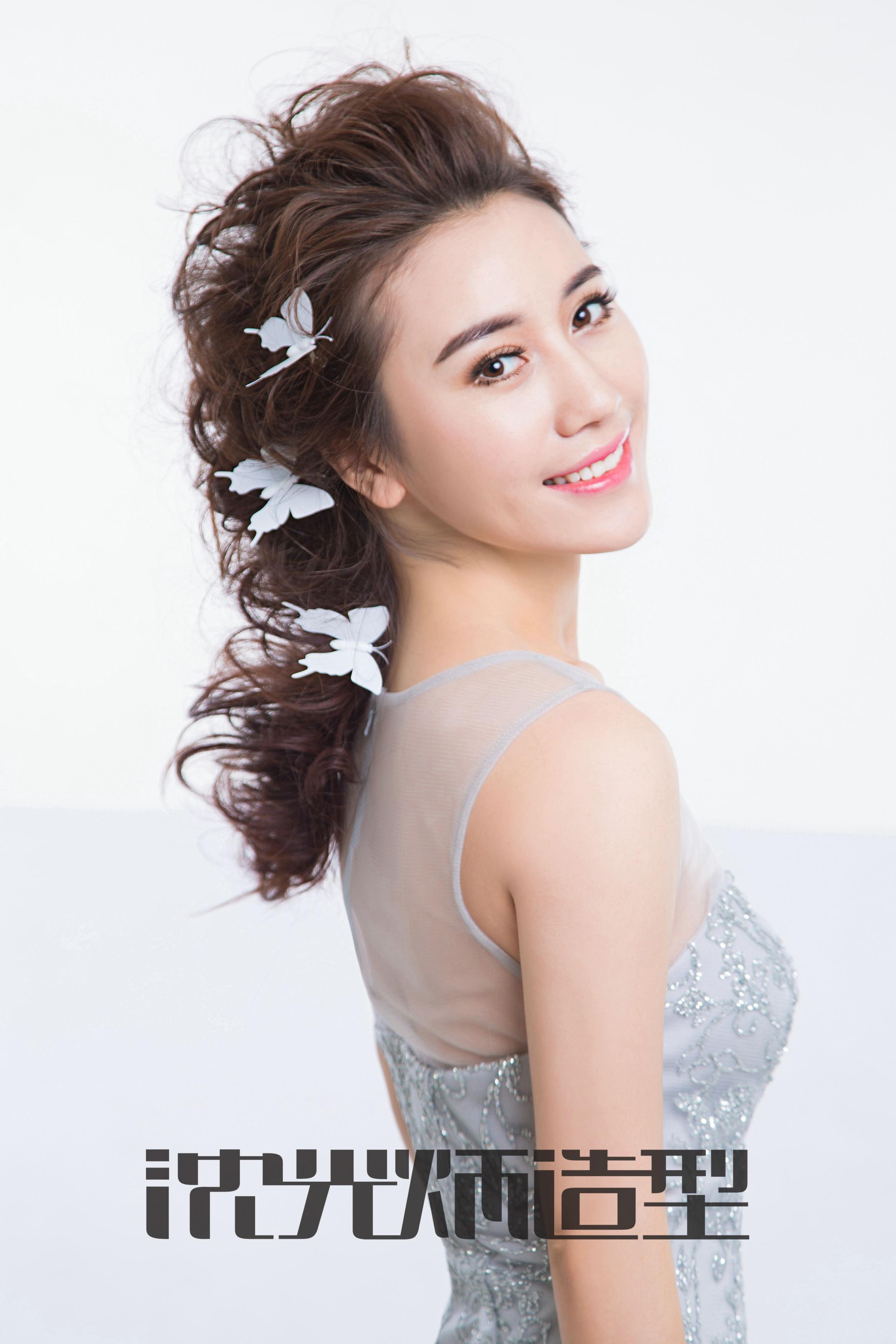 森系白沙新娘发型分享展示图片