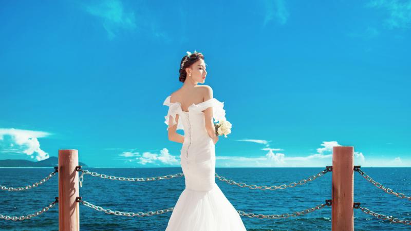 三亚海景婚纱照