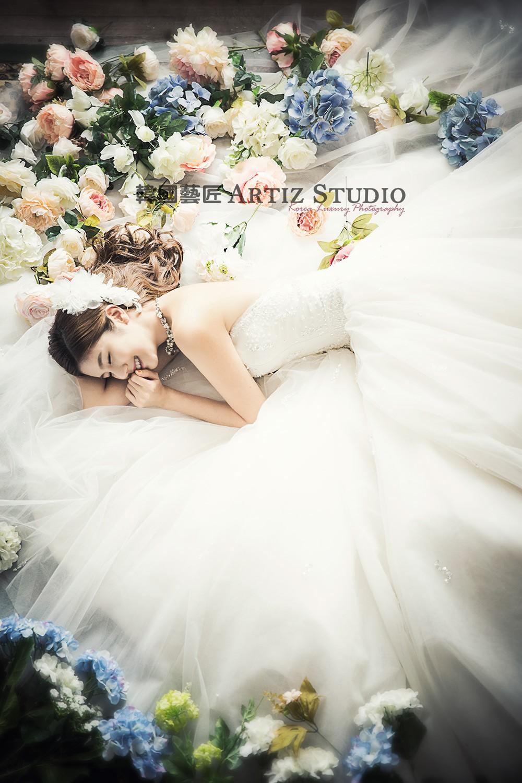 韩式婚纱照图片-韩式婚纱摄影照片【分享】