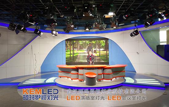 演播室使用LED影视灯布光的优势