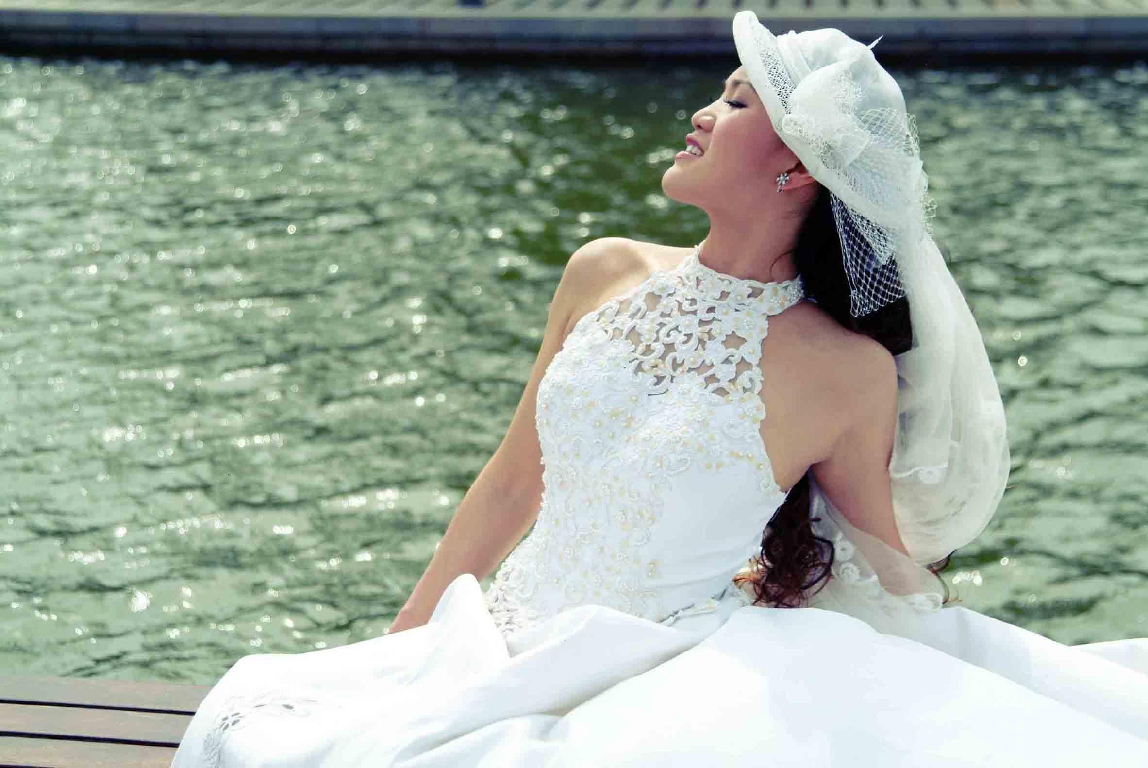 高清婚纱调色素材