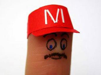 [推荐]经典:手指也有可爱的表情(图)