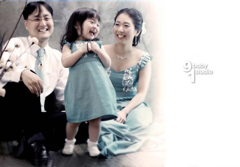 [贴图]韩国温情全家福