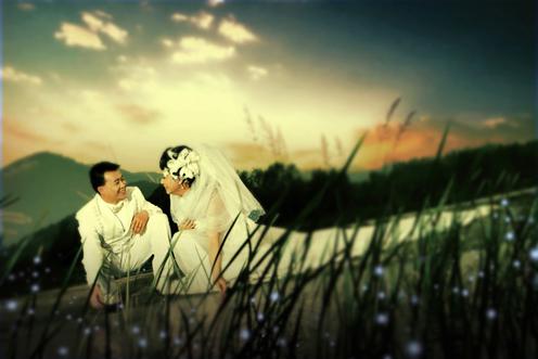 外景婚纱作品 仙境传说 欣赏