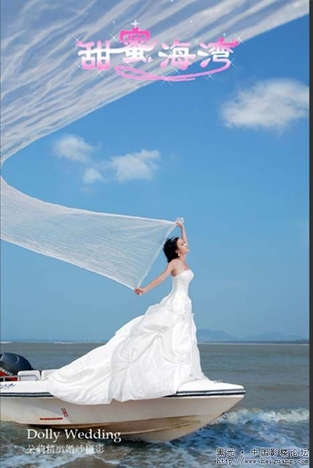 [分享]三亚海景婚纱-朵莉新样片甜蜜海湾