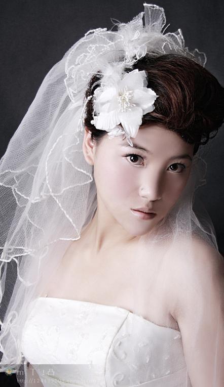 婚纱 婚纱照 910_1365_发型设计