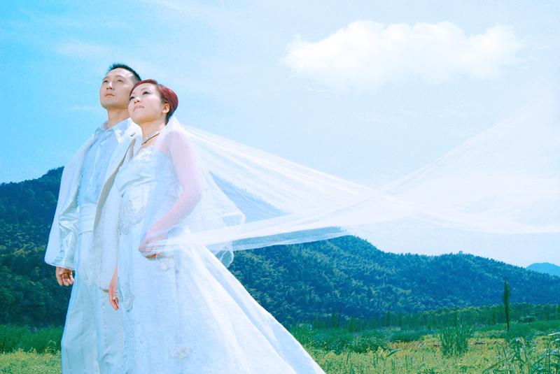 婚纱高清素材调色仹f