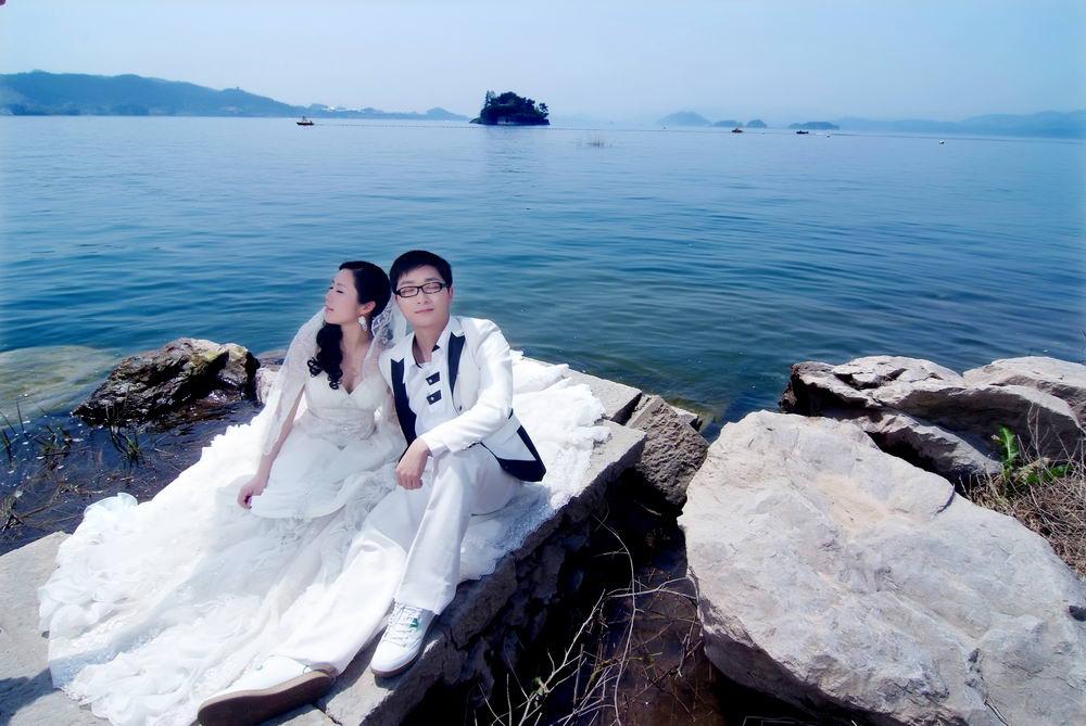 外景婚纱照欣赏(千岛湖)