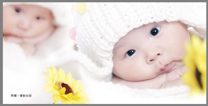 百天可爱宝宝_儿童摄影作品