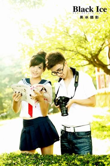 青岛黑冰婚纱摄影8月写真大集合