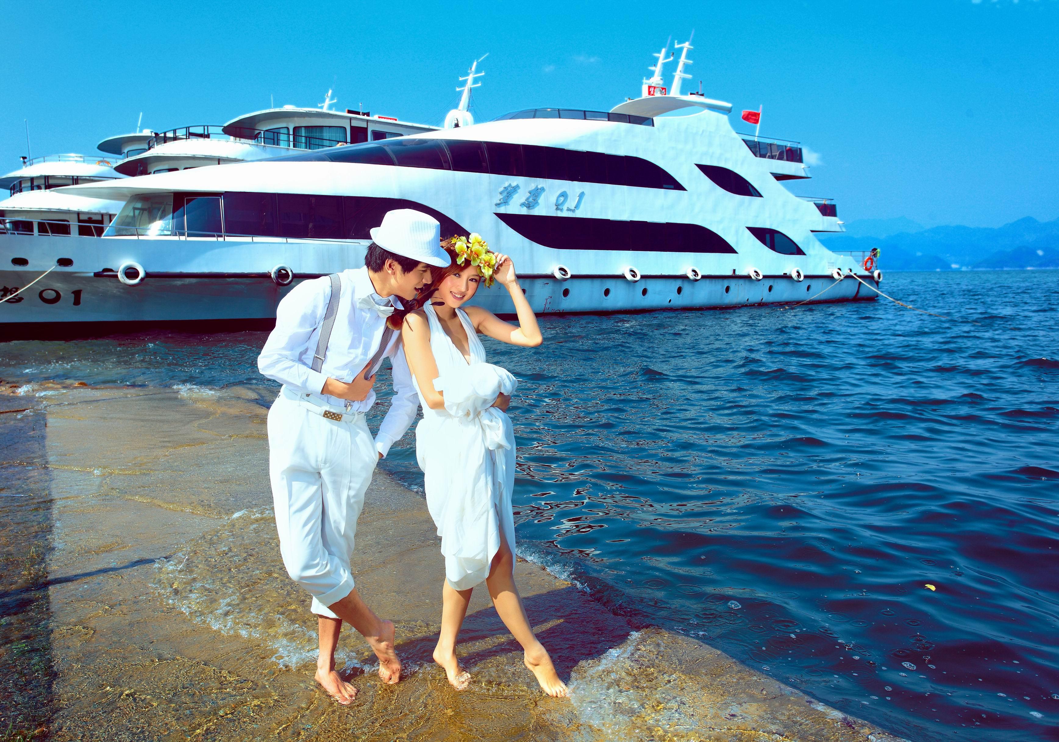 千岛湖基地(水岸) - 婚纱摄影作品