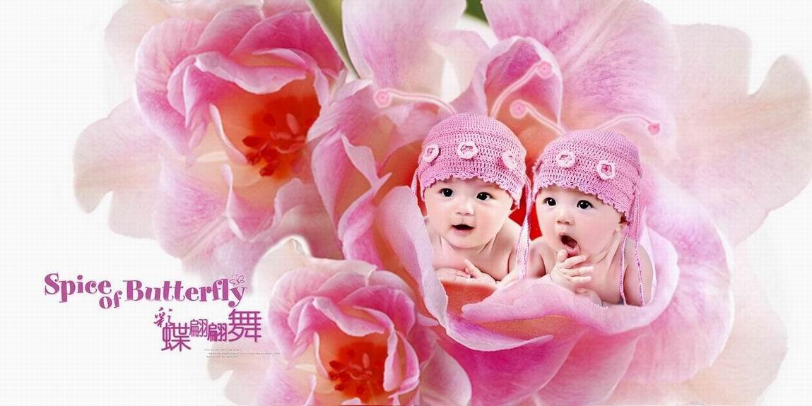 可爱的花仙子_儿童摄影作品