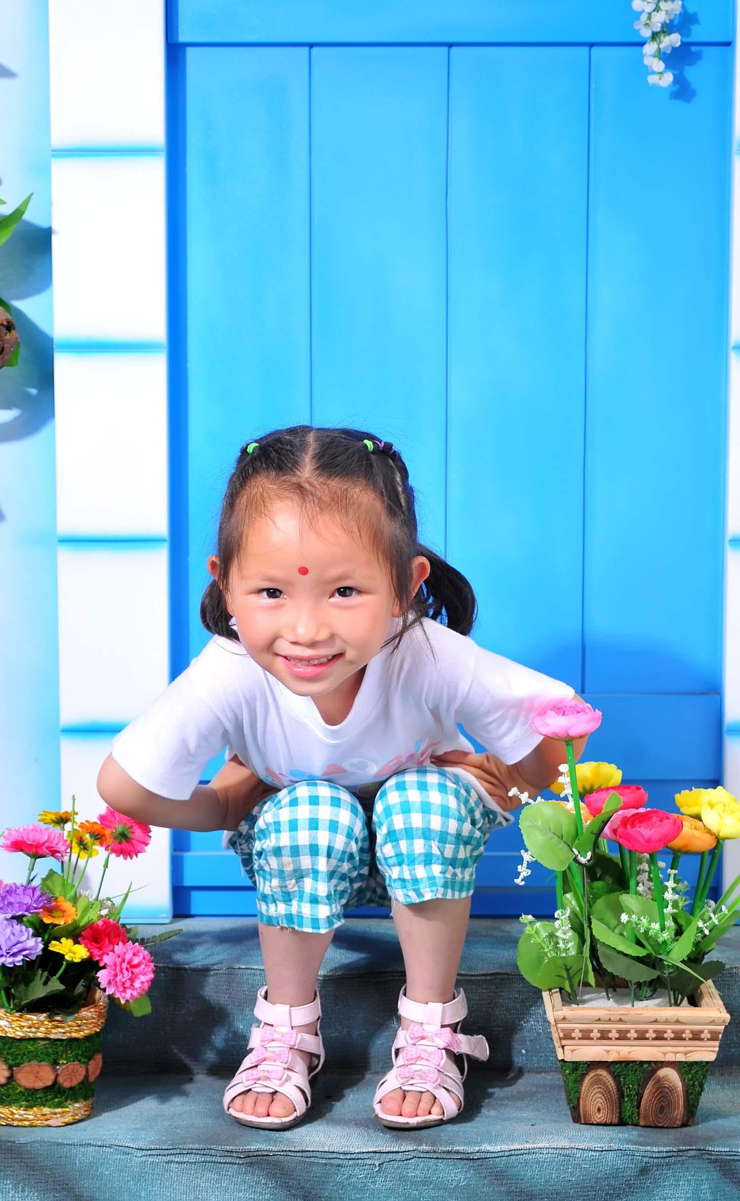 可爱的小女孩