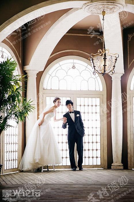 长沙艾特婚纱欧式风格照片