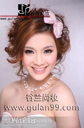韩式新娘妆面造型,新