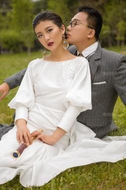 沈阳婚纱照风格【聚焦摄影】幸福是巧遇