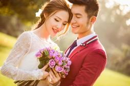 沈阳3D视觉婚纱摄影—茂盛的爱情花园
