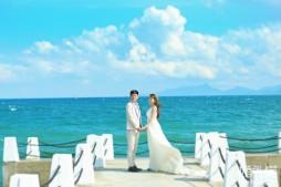 #婚礼猫婚纱摄影#花海庄园•遇见最美的海