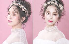 化妆教程:新娘发型新趋势--韩式抽丝